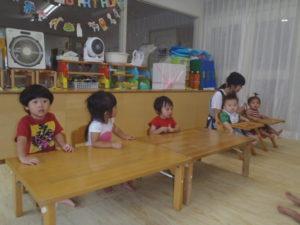 🎈誕生会8月 1階クラス