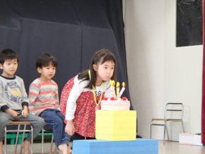 🎅12月のお誕生会 2階クラス