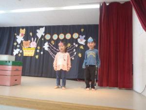 3月 お誕生会 2階クラス 2.3.4.5歳児